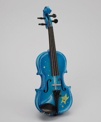 Blue Twinkle Star Violin Set
