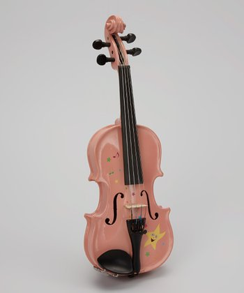Pink Twinkle Star Violin Set