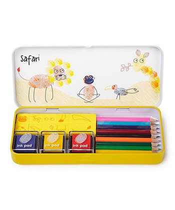 Safari Finger Printing Art Set