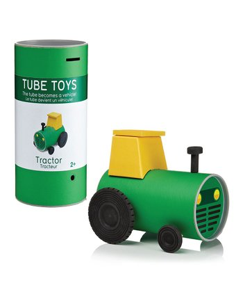 Tractor Tube Puzzle Toy Set
