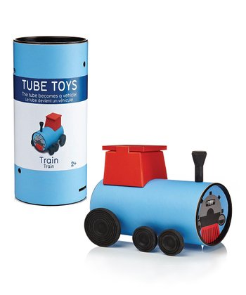 Train Tube Puzzle Toy Set