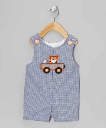 Blue Tiger Jeep Shortalls - Infant