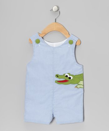 Blue Alligator John Johns - Infant & Toddler