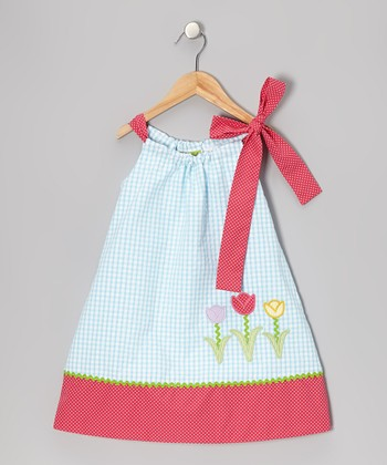 Blue Tulip Swing Dress - Infant, Toddler & Girls