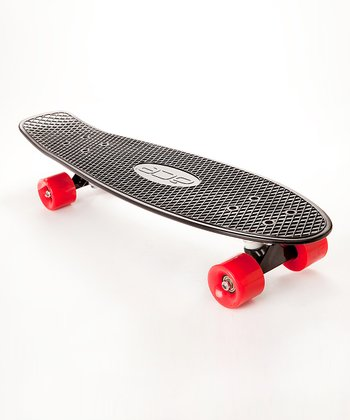 Red & Black Classic Skateboard