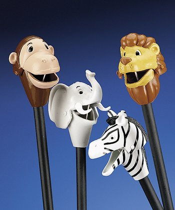 Plastic Zoo Animal Grabber Set