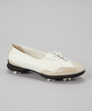 White & Bone Rhiona Golf Shoe - Women