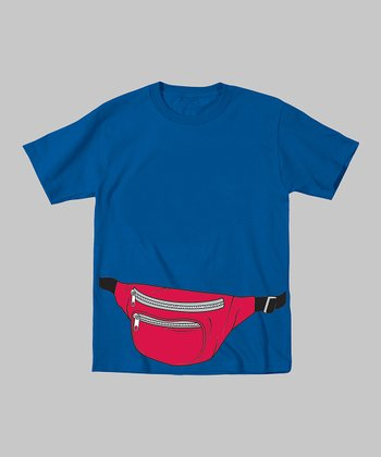 Royal Blue Fanny Pack Tee - Toddler & Kids