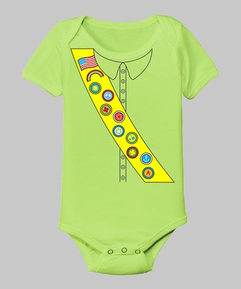 Key Lime Scout Bodysuit - Infant