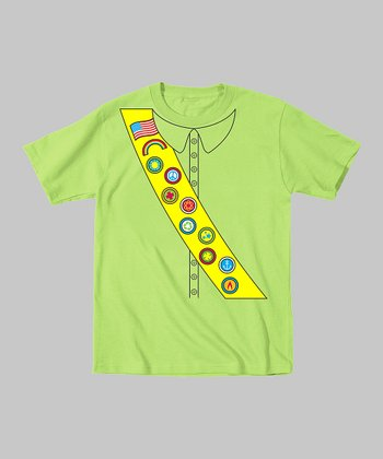 Tuxedo Tees Key Lime Scout Tee - Toddler & Boys