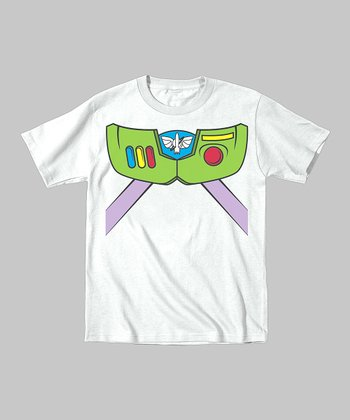Tuxedo Tees White High-Tech Astronaut Tee - Toddler & Boys