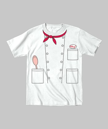 Tuxedo Tees White Chef Tee - Toddler & Kids