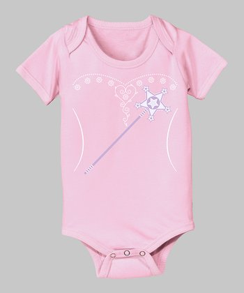 Tuxedo Tees Light Pink Fairy Bodysuit - Infant