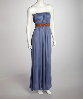 Gray Diamond Maxi Dress