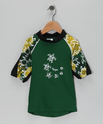 Malachite Off-Shore Rashguard - Toddler & Boys