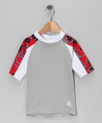 Crimson Breaker Rashguard - Infant, Toddler & Boys