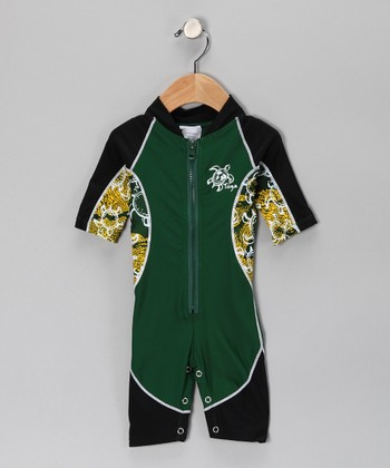 Malachite Low-Tide One-Piece Rashguard - Infant, Toddler & Boys