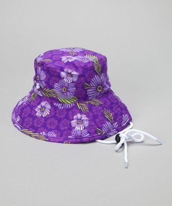 Plum Flower Bucket Hat