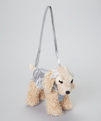 Silver Sadie Dog Purse