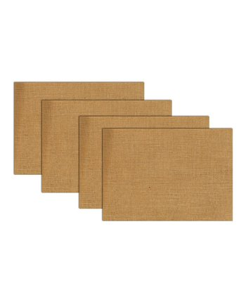 Burlap Place Mat - Set of Four