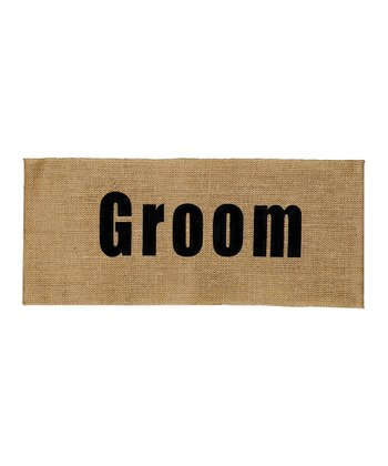 Groom Pillow Wrap