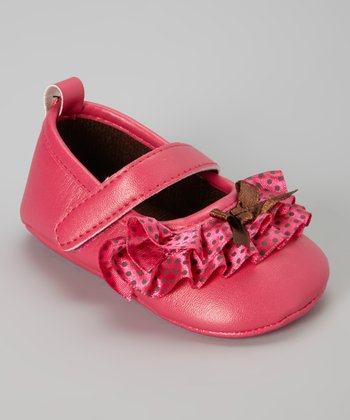 Fuchsia Ruffle Mary Jane