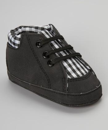 Adorababy Black Gingham Sneaker