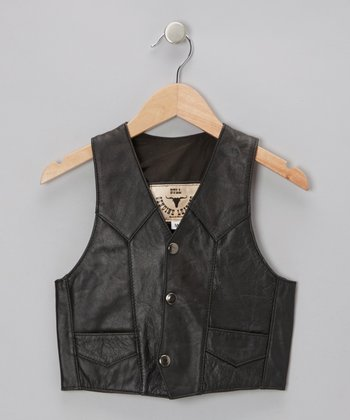 Black Vest - Toddler & Kids