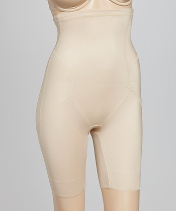 Nude High-Waisted Step-In - Women & Plus