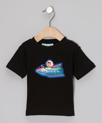 Black Space Boy Appliqué Tee - Infant, Toddler & Boys