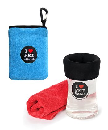 Clean Me Collection Travel Towel & Foot Bath