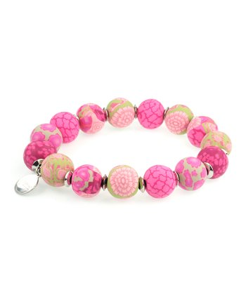 Berry Keepsake Stretch Bracelet