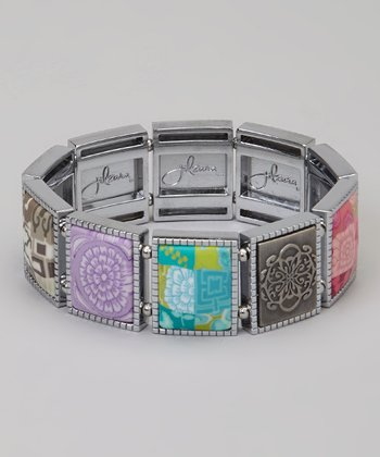 Blossom Square Stretch Bracelet