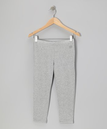 Heather Gray Capri Leggings - Toddler & Girls