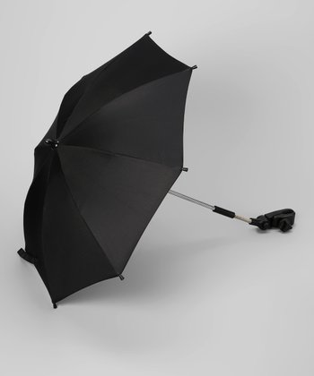 Black Hands-Free Stroller Umbrella