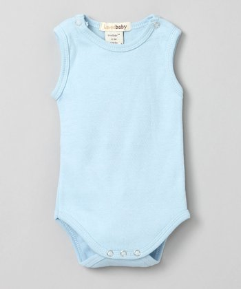True Blue Sleeveless Bodysuit - Infant