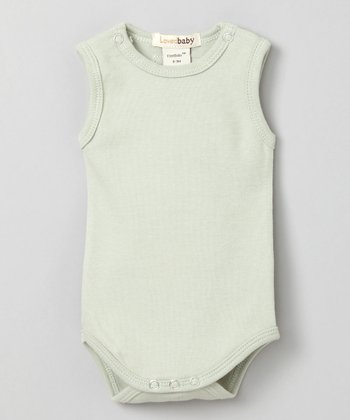 Keen Green Sleeveless Bodysuit - Infant