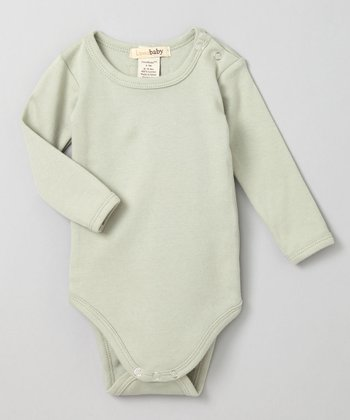 Keen Green Long-Sleeve Bodysuit