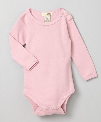 Think Pink Long-Sleeve Bodysuit - Infant