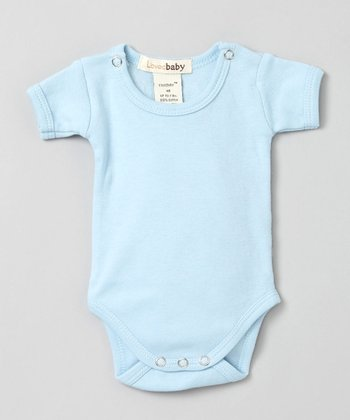 True Blue Short-Sleeve Bodysuit - Infant