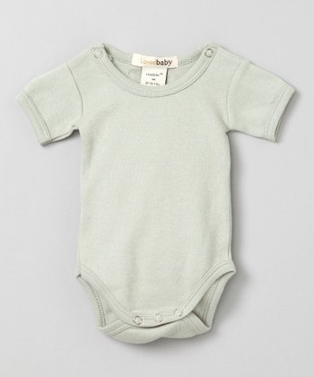 Keen Green Short-Sleeve Bodysuit - Infant