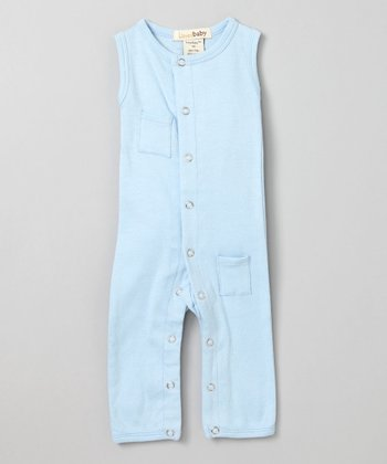 True Blue Sleeveless Playsuit - Infant