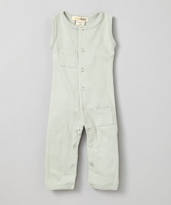 Keen Green Sleeveless Playsuit - Infant