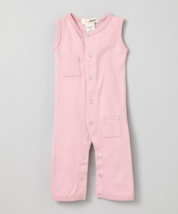 Think Pink Sleeveless Playsuit - Infant