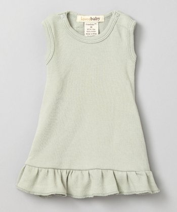Keen Green Dress & Diaper Cover - Infant