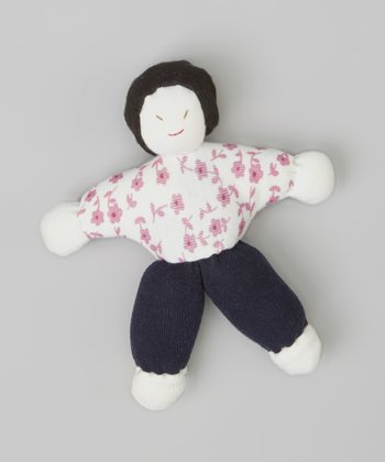 Petite Flower Lilly Organic Plush Doll