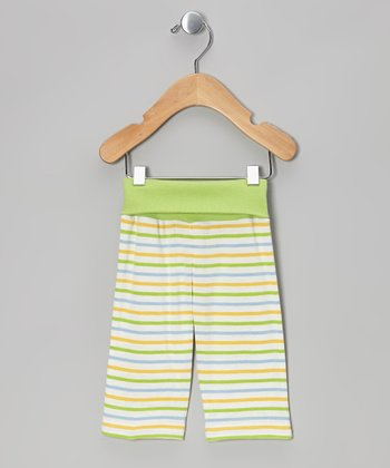 Sherbet Stripe Organic Yoga Pants