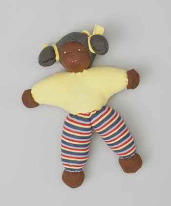 Yellow Tasha Organic Plush Doll