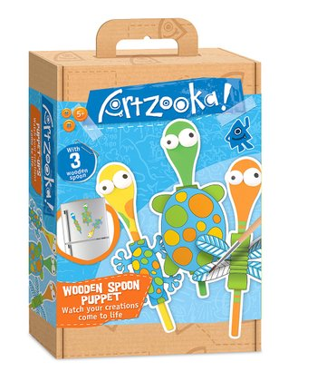 Wooden Spoon Puppets Kit