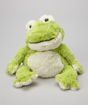 Cozy Frog Plush Toy